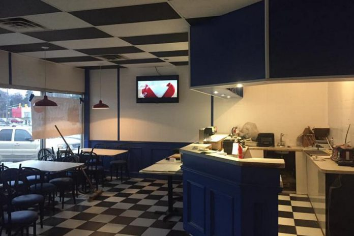 The interior of the new P.J.'s Diner location in the Brookdale Plaza on Chemong Road