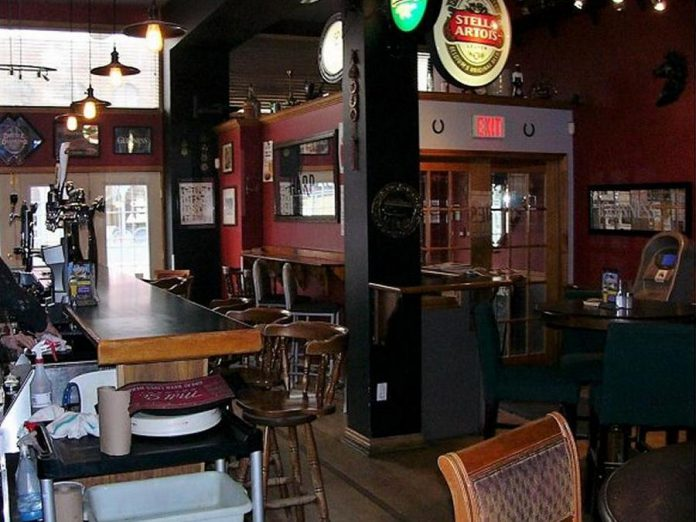 A photo of the interior of The Black Horse Pub from the property listing on the Century 21 website (photo: Century 21)