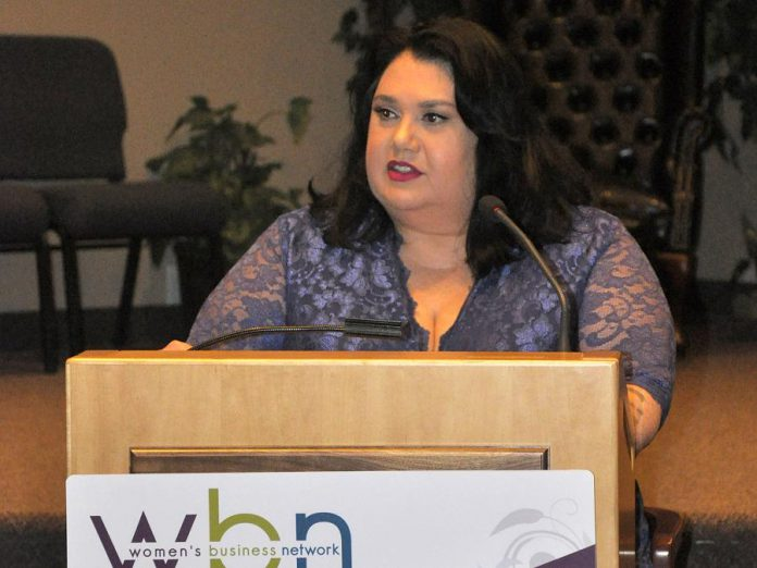 """Candy Palmater shared her experiences as a young girl. """"It was a constant struggle about fairness ... If I could play (baseball) as well as most of the boys, why couldn't I play?"""""""