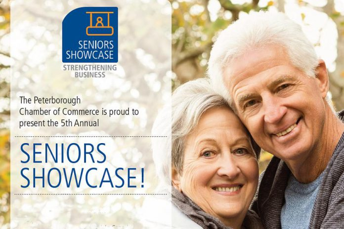The 5th Annual Seniors Showcase takes place on June 14 (graphic: Peterborough Chamber of Commerce)