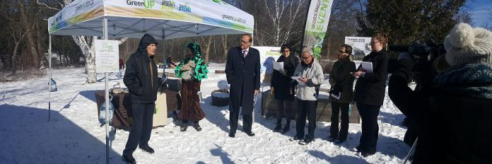 GreenUP's announcement took place at Ecology Park, which opens for the 2017 season on May 21st  (Photo: Jeannine Taylor / kawarthaNOW)