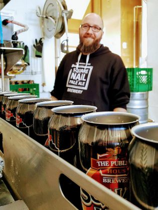 In 2015, Publican House Brewery in Peterborough struggled with manual packaging, challenging their ability to meet the demand for their products. EODP funding allowed the business to purchase their first bottling machine and they have since doubled their bottling efficiency while reducing waste by over nine percent. (Photo: Publican House Brewery / Facebook)