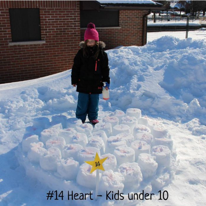 """Myah Heacock was the winner in the Kids Under 10 category for """"Marshmallow Heart""""."""