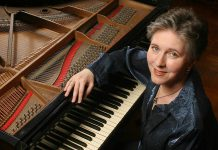 "World-class pianist Janina Fialkowska, declared ""one of the Grandes Dames of piano playing"", returns to Peterborough to perform with the Peterborough Symphony Orchestra as part of her 65th birthday tour. Janina has two connections to Peterborough: she spent her first year of life here and her brother Peter Fialkowski was a well-known face on television as the weatherman on CHEX for more than 30 years. (Photo: Peter Schaaf)"