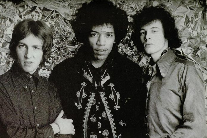 "The Jimi Hendrix Experience (Mitch Mitchell, Jimi Hendrix, and Noel Redding) released ""Are You Experienced"" in 1967"