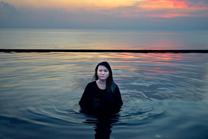 While at Harvard pursuing her degree in computer science, Joy Ding studied photography with Chris Killip, whose approach to portraiture remains a strong influence. (photo: Joy Ding)