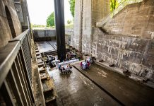 Peterborough & The Kawarthas Tourism, in partnership with Parks Canada and The Canadian Canoe Museum, is offering 64 people the chance to dine under the Peterborough Lift Lock this summer (photo: Peterborough & The Kawarthas Tourism)