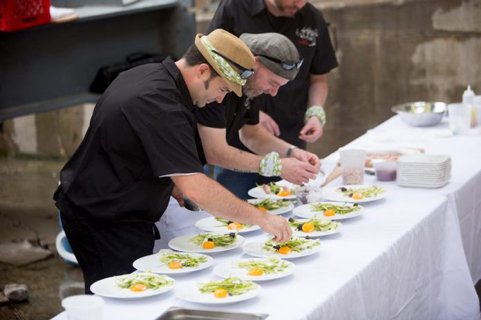 The chefs of Tres Hombres will be preparing a five-course dinner using fresh, locally sourced ingredients (photo: Peterborough & The Kawarthas Tourism)