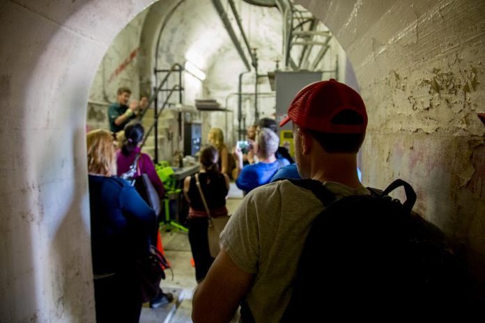Guests will receive a guided tour of the innermost chambers of the Peterborough Lift Lock while learning how it operates (photo: Peterborough & The Kawarthas Tourism)