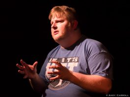 Actor, poet, and musician Josh Butcher performs his original one-man show The Origin of a Designated Driver at The Theatre On King from March 16 to 18 (photo: Andy Carroll)