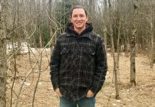 Reginal Eddy is a student in Fleming College's Urban Forestry Technician Co-op program (photo courtesy of Fleming College)