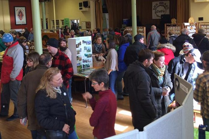 Hundreds of people checked out the offerings at Seedy Sunday on March 12. If you missed it, you can find more seeds at the Farmers' Market in upcoming weekso by stopping into the GreenUP Store, which carries a variety of fresh, local, and organically grown vegetable seeds as well as kits for growing vegetable mixes, herbs, micro-greens, and edible flowers. (Photo: Jillian Bishop of UrbanTomato / Facebook)