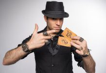 Magician Spidey, who performs at the Market Hall in Peterborough on March 25, has even impressed famous magicians Penn & Teller with his mentalism tricks