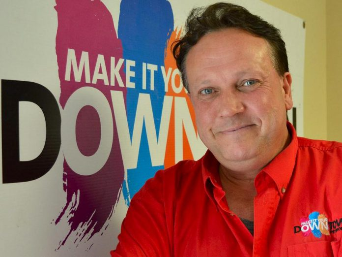 Terry Guiel -- musician, husband, father of three, former City Councillor, and current Executive Director of the Peterborough Downtown Business Improvement Area -- turns 50 on March 11, 2017