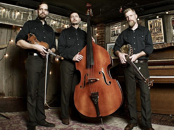 Warm up the final days of winter with some old-time music from Toronto's The Lonesome Ace Stringband (Chris Coole, John Showman, and Max Heineman), who are performing at the Gordon Best Theatre in downtown Peterborough on Friday, March 10 (publicity photo)