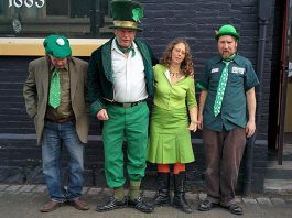 There are lots of local celebrations of St. Patrick's Day on March 17, including a last jig at The Pig's Ear in downtown Peterborough (which closes its doors on April 22) featuring Washboard Hank and The Killarney Honkers (photo: Washboard Hank)