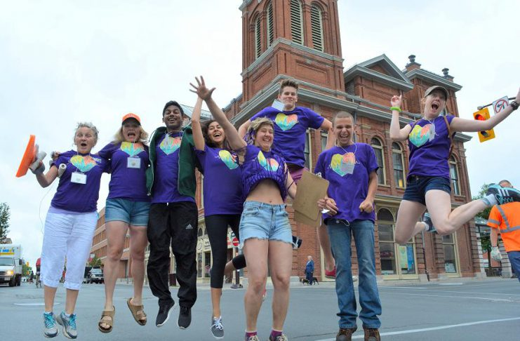 On National Volunteer Week, GreenUP recognizes and celebrates all of the volunteers who have brought such incredible enthusiasm and fun to Peterborough Pulse, the city's largest outdoor recreation, open streets event.