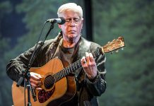 Folk Under The Clock presents singer-songwriter and guitarist Bruce Cockburn at the Showplace Performance Centre in Peterborough on September 25, 2017. Hamilton's Terra Lightfoot will be opening. (Photo: Denna Bendall)