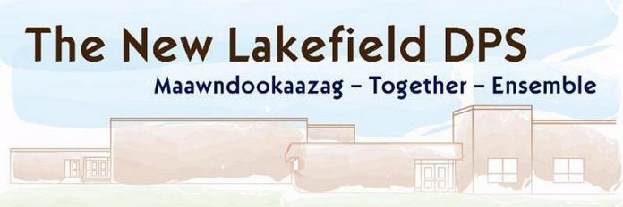 Kawartha Pine Ridge District School Board is publishing a newsletter about the new Lakefield District Public School