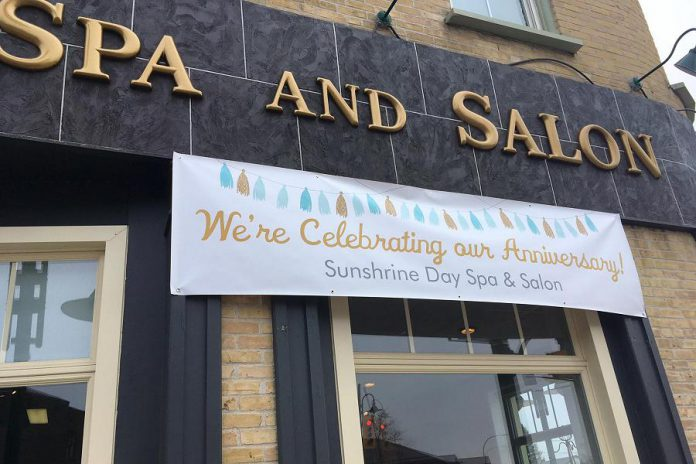 SunShrine Day Spa & Salon in Lakefield is celebrating its 17th anniversary (photo: SunShrine / Facebook)