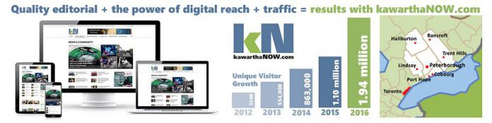 kawarthaNOW.com is offering a special marketing opportunity for Chamber members (graphic: kawarthaNOW.com)