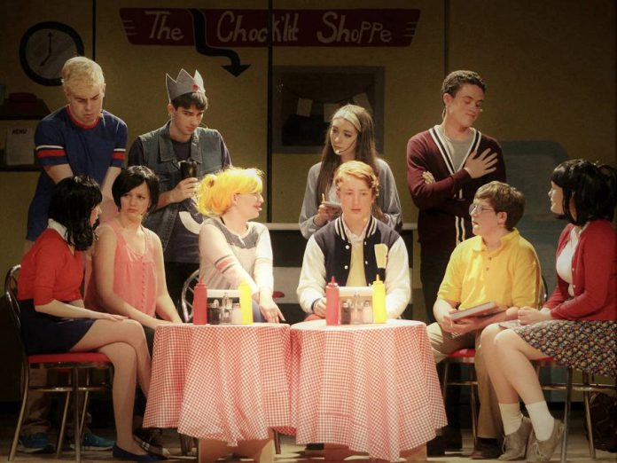 """""""Everybody Loves Archie"""", an original play based on Archie Comics written and directed by Jen Nugent, runs from April 26 to 29 at the PCVS Auditorium in Peterborough. (Photo: Enter Stage Right)"""
