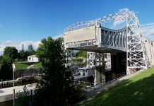 The Kirkfield Lift Lock on the Trent-Severn Waterway (photo: Wikipedia)