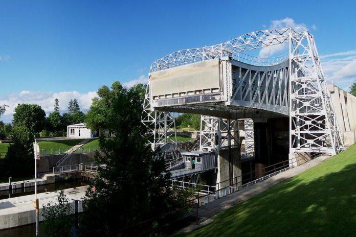 The Kirkfield Lift Lock on the Trent-Severn Waterway (photo: Wikipedia)