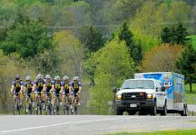 The Pedal for Hope cycling team, pictured here in 2013, has raised $4.8 million for pediatric cancer research since 2005. (Photo: Pedal for Hope / Facebook)