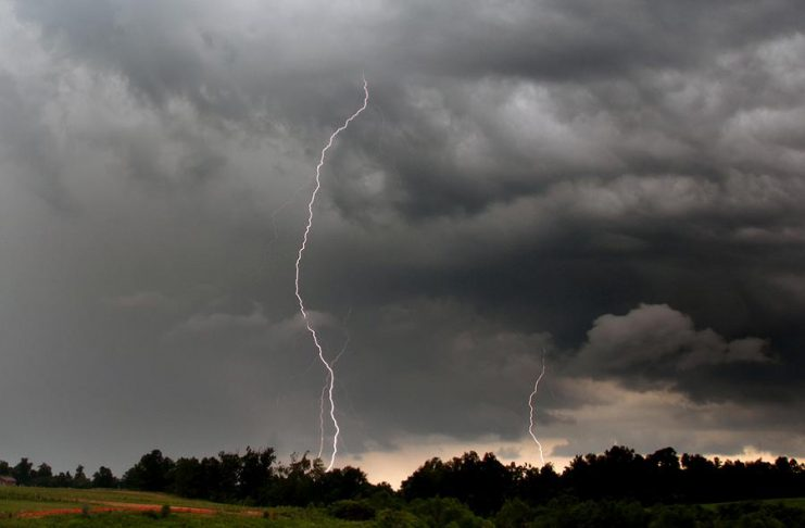 A severe thunderstorm watch is in effect for the Kawarthas