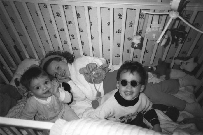 "James (right) with his sister Rebecca and younger brother Ben. James was diagnosed with neuroblastoma when he was only four years old. After bravely battling the cancer over the next four years (he came up with the family slogan ""Ya Can't Let Cancer Ruin Your Day""), he died at the age of eight. The James Fund is his legacy. (Photo: The Birrell family)"