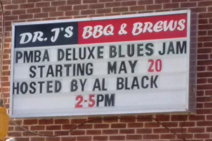 The first Deluxe Blues Jam at Dr. J's BBQ and Brews takes place on Saturday, May 20 from 2 to 5 pm. (Photo: Don McBride)