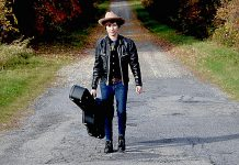 "Montreal-based alt-country singer Bobby Dove, whose 2016 debut album ""Thunderchild"" was produced in Peterborough by James McKenty, performs at The Arlington in Maynooth on Saturday May 27 and at The Garnet in downtown Peterborough (accompanied by Bobby Watson) on Monday, May 29. (Publicity photo)"