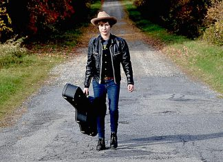"""Montreal-based alt-country singer Bobby Dove, whose 2016 debut album """"Thunderchild"""" was produced in Peterborough by James McKenty, performs at The Arlington in Maynooth on Saturday May 27 and at The Garnet in downtown Peterborough (accompanied by Bobby Watson) on Monday, May 29. (Publicity photo)"""