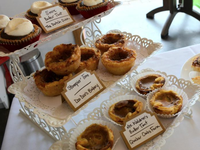 Bakers throughout the Kawarthas are making Canadiana theme butter tarts to celebrate Canada's 150th. (Photo: Eva Fisher / kawarthaNOW)