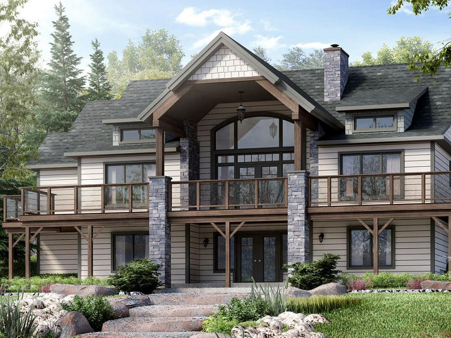 Beaver Homes And Cottages Offers Design Options Like The Cariboo, With  Plenty Of Outdoor Deck