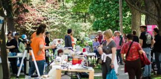 The 2017 Great Gilmour Street Garage Sale takes place on Saturday, May 27th from 9 a.m. to 1 p.m. (Photo: Linda McIlwain)