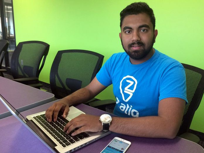 Tech entrepreneur Sultan Moni created Zatiq to be the Spotify of food. (Photo: Eva Fisher / kawarthaNOW)