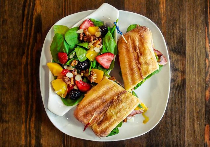 Newly rebranded Bumbleberry Bistro offers sandwiches, salads and treats. (Photo: MossWorks Photography)