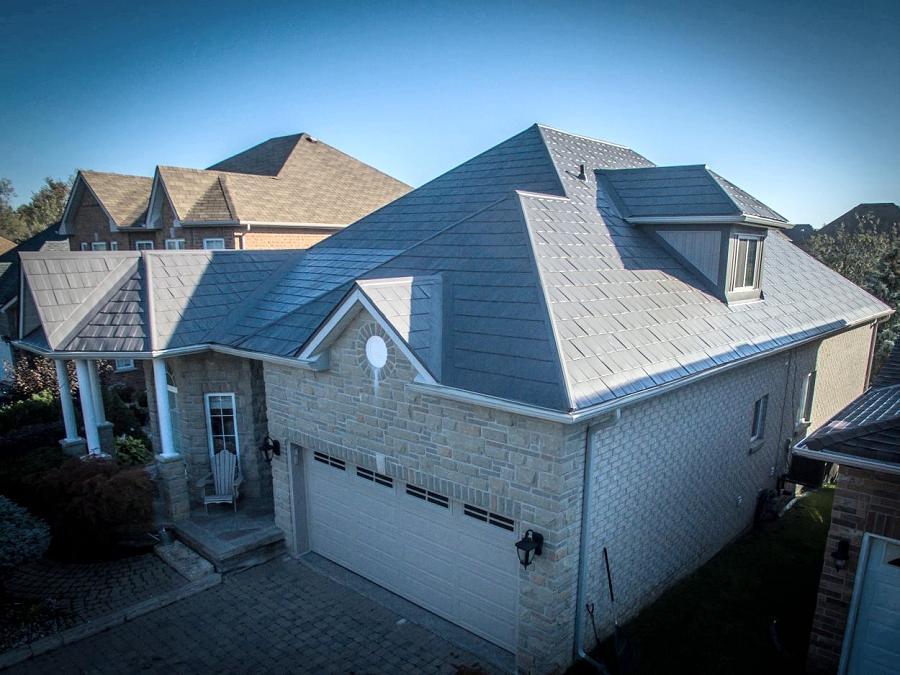 Lifestyle Home Products metal roofing is guaranteed for 50 years, four times longer than asphalt shingles. (Photo: Lifestyle Home Products)