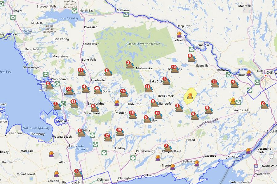 Power Outages In Cottage Country Ahead Of Long Weekend Kawarthanow
