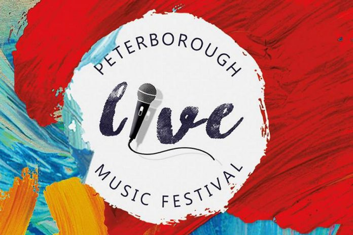 Peterborough LIVE Music Festival runs May 10 to 14 in downtown Peterborough. For a $15 all-access pass, you can see more than 100 performers at 25 venues. (Graphic: Peterborugh Live)