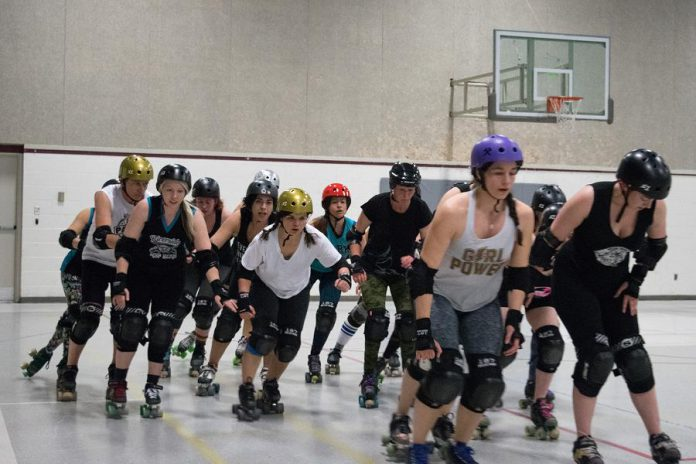 PARD is an incorporated not-for-profit, co-ed, skater-run league based in Peterborough, playing full contact flat track roller derby.   (Photo: Scott Tromley)