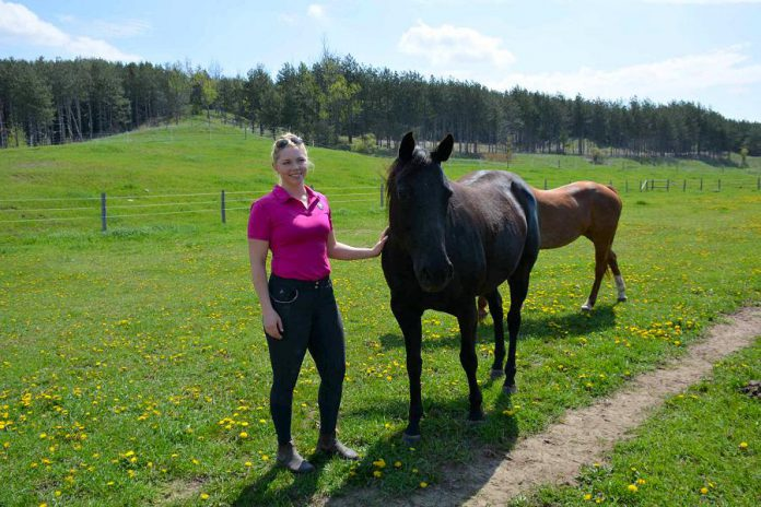 Sky Haven Equestrian Centre is located in the beautiful hills of Bethany, Ontario. (Photo: Eva Fisher / kawarthaNOW)