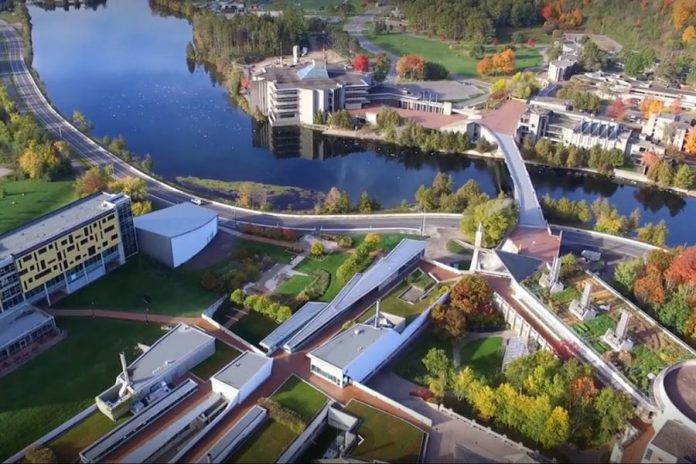 Trent University in Peterborough. (Photo: Google)