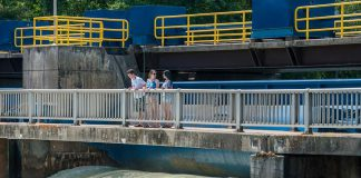 To ensure boater safety and reduce erosion, Parks Canada is opening the Trent-Severn Waterway in stages. Only locks 28 to 42, between Burleigh Falls and Couchiching, will be open for boat navigation as of Friday, May 26. (Photo: Parks Canada)