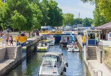 Due to high water levels and flows, Parks Canada has delayed the opening of the Trent-Severn Waterway for the 2017 season by one week until Friday, May 26th. (Photo: Parks Canada)