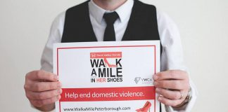 There's still time to register for Walk a Mile in Her Shoes, or to pledge your support to an individual participant or team, before the event takes place on Friday, May 26. (Photo: YWCA Peterborough Haliburton)