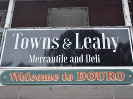 Towns & Leahy Mercantile and Deli, a specialty grocery store located in the former PG Towns General Store in Douro, is open for business. (Photo: Mike Towns / Facebook)