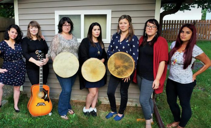 Eastern Owl, who will be performing as part of the National Aboriginal Day celebrations at The Canadian Canoe Museum, is known throughout Newfoundland and nationally as a unique group of seven female vocalists who blend the styles of First Nations drum music and contemporary folk to create their own innovative sound.